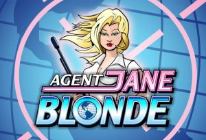 Agent Jane Blonde machine à sous