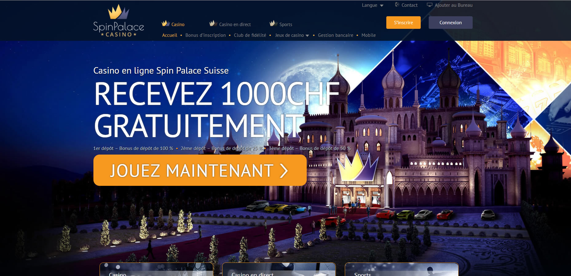Spin palace casino free spins